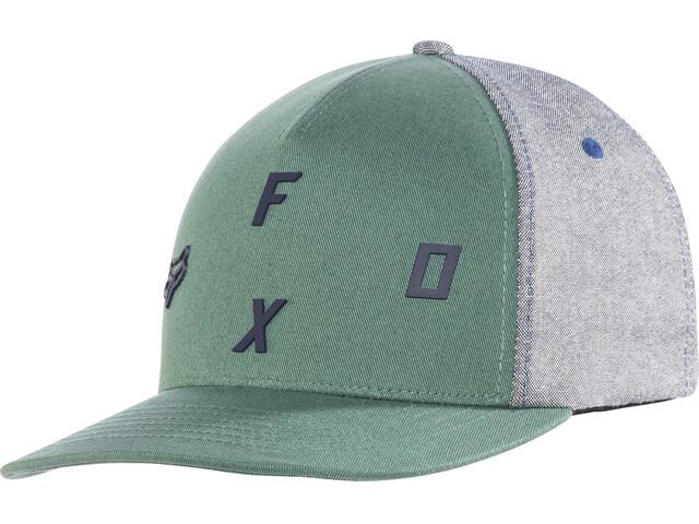 Fox Tri Stack Flexfit Hat Dark Fatigue